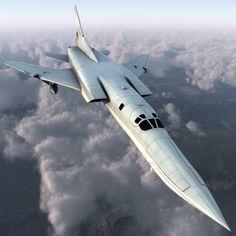 Russian Strategic Bomber Tu 22M3