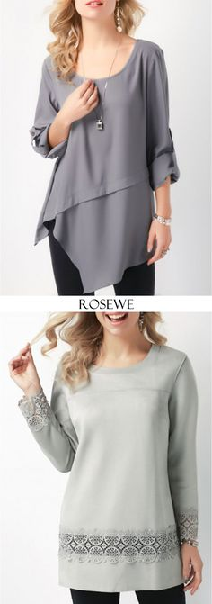 Casual tops at Rosewe.com, free shipping worldwide, $5 off over $59, check them out. Cut Up Shirts, Polo T Shirts, Mens Paisley Shirts, High Collar Shirts, Grandad Shirts, Collared Shirt Dress, Custom Design Shirts, Matching Couple Shirts, Cheap Dresses