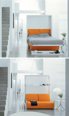 Space-saving, multi-purpose furniture. Phot by CLEI.