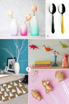 Spray Paint DIY Roundup! Perfect for a long weekend or for when you have a dry day
