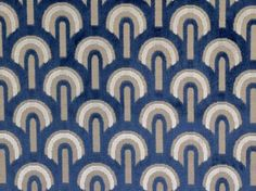 Brockhall Designs Art Deco Arches Velvet Fabric - Curtains and Upholstery - The Millshop Online Art Deco Curtains, Art Deco Fabric, Fabric Design, Black Velvet Fabric, Velvet Upholstery Fabric, Velvet Curtains, Art Deco Stoff, Black Figure, French Fabric