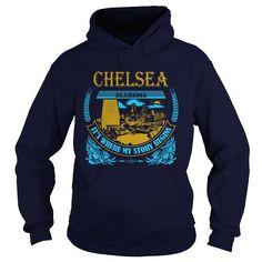 I Love  Chelsea -AL  T shirts