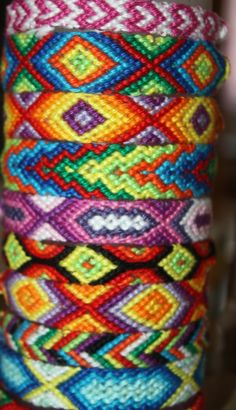 Colorful Friendshipbraclets ! Summertime in different Styles. Make your own Arm party    #Friendshipbracelet #Armparty #Armcandy   friendship-bracelets  Friendship Bracelet