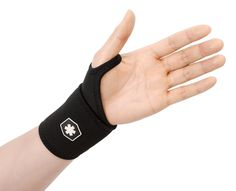 Wrist Support Wrap for Carpel Tunnel Syndrome, Sprained Wrist, and Keyboard / Typing Support by ICEWRAPS Fitness IWF8832 ** Click image to review more details.