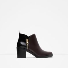 ZARA - WOMAN - COMBINED ANKLE BOOT