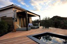 Mymering, Ladismith - Unsurpassed 4 star beauty - Discover South Africa Blog Star Beauty, Thatched Roof, Plunge Pool, Breath Of Fresh Air, Luxury Accommodation, Private Garden, Open Plan Kitchen, Walk In Shower, Lounge Areas