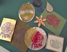 Faux Enameling: Create the Look of Enamel Jewelry Quickly and Easily - Jewelry Making Daily - Jewelry Making Daily