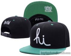 042e8ca92928d Cheap Wholesale In4mation Aloha Army Snapback Hats Caps Black Cyan Green  for slae at US 8.90