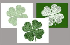 Here are some St. Patrick's Day printables. I got a little carried away, I just can't seem to make up my mind and when I get in that frame of mind I overdo it! Hope you enjoy these free printables. These are all jpeg files. Let me know if you have issues with the link! …