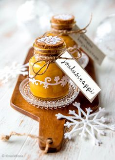 Vahva joulusinappi Very Merry Christmas, Christmas Is Coming, Christmas Time, Christmas Kitchen, Christmas Baking, Martha Stewart Recipes, Fast Food Restaurant, Diy Presents, Xmas Party