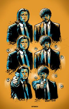 Pulp Fiction by Ivan Efimov