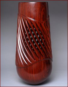 William Hunter | shape Shifter IV, 1999. Cocobolo.