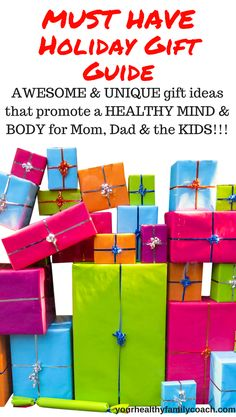 Holiday Gift Ideas   Healthy Family   Gift Ideas for Kids   Gift ideas for Mom   Gift ideas for Dad #happyholidays #giftideas #giftsforkids #giftsformom #giftsfordad #healthy