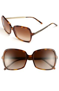 Burberry Butterfly 57mm Sunglasses... Sleek logos brand the slim metallic temples of full-coverage, vintage-glam butterfly sunglasses. Color(s): black, havana. Brand: Burberry. Style Name: Burberry Butterfly 57mm Sunglasses.