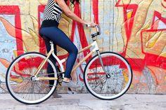 Bicicletas de bambú.