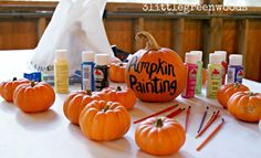 how much would these little pumpkins cost? They could paint them, leave to dry and pick up before they leave.