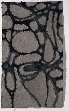 Gunter Damisch | WELTSCHLINGEN UND WELTLÖCHER 3 | 2006-2007 | © Albertina, Wien #AbstractArt #Art #Kunst Albertina Wien, Textile Design, Abstract Art, Collage, Design Inspiration, Textiles, Contemporary, Home Decor, Home