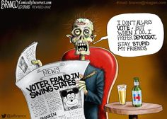 """Reports of rampant voter fraud happening in the swing states this 2016 Election. """"Those who cast the #votes decide nothing. Those who count the votes decide everything."""" -J. Stalin"""
