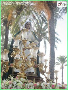Cruces de Pasión: Jerez de la Frontera(Cádiz).Procesión de Santa Mar...