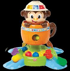 Fun Comes First! Bright Starts just put a whole new spin on monkey business with the Having a Ball Hide 'n Spin Monkey! This irresistible monkey will keep baby Toddler Toys, Baby Toys, Kids Toys, Toddler Stuff, Children Crafts, Baby Play, Bright Starts Toys, Baby Activity Toys, Baby Activities