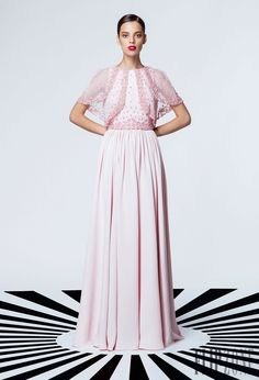 "Georges Hobeika ""Signature"", S/S 2015 - Ready-to-Wear - http://www.flip-zone.net/fashion/ready-to-wear/fashion-houses-42/georges-hobeika-5091"