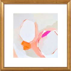 Complete an abstract gallery wall with this framed print from Artfully Walls, or let it stand on its own as an eye-catching focal point....