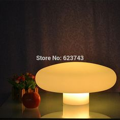 42.67$  Buy here - http://aii0n.worlditems.win/all/product.php?id=32627797429 - Waterproof Color changing desk lamp illuminated LED Mushroom Night Lights of glowing fungus decor holiday lighting