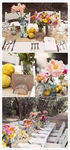 wedding tables bluebirdstampin