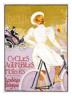 Delin bicycles ~ Georges Gaudy