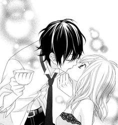 Image via We Heart It #couple #Hot #kiss #manga #shoujo #smut