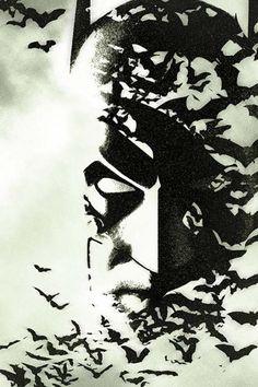 Batman Black and White #5 cover by Joshua Middleton