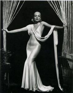 Carole Lombard - The Dress. If only I had the body type for this, I'd be getting married in it.
