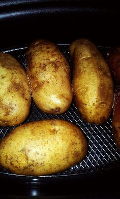Baked Potatoes in the Ninja Cooking System
