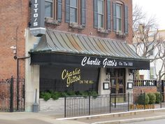 The original Charlie Gitto's, on The Hill, St Louis, MO