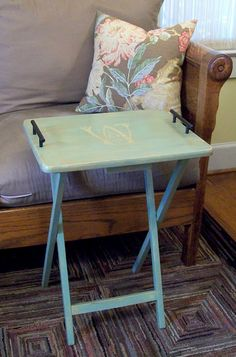 Tv Tray - I want to find one and use it in my new room for doing school or even as a side table!