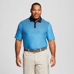 Men's Big & Tall Printed Golf Polo