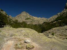 Ascent to Monte d'Oro from Col de Vizzavona - Corsica