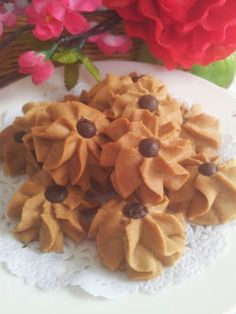 ~~ White Coffee Butter Cookies ~ 白咖啡牛油饼 ~~