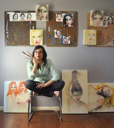 Saatchi Art | One-to-Watch: Lisa Krannichfeld http://magazine.saatchiart.com/articles/artnews/saatchi-art-news/one-to-watch/lisa-krannichfeld