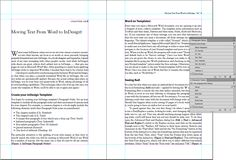 Moving Text From Word to InDesign