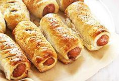 Virslis kifli kelt tésztából - sokkal finomabb, mint a hot-dog! - Blikk Rúzs Hot Dog Buns, Hot Dogs, Meat Recipes, Healthy Recipes, Bread Dough Recipe, Looks Yummy, Croissant, Baked Goods, Breakfast Recipes