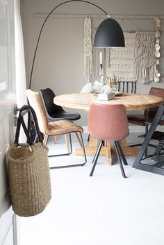 Ideas Kitchen Table Chairs Diy Living Rooms For 2019 Dining Chairs, Dining Room, Dining Table, Sweet Home, New Homes, Interior Design, Decoration, Furniture, Home Decor