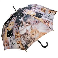 Adorable BFF (Best Furry Friend) Cat Umbrella makes a great Cat Lover Gift!  Stick or Folding Styles available with Free U.S. Shipping Everyday!