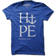 My design inspiration: Hope More Despair Less Men's Tee on Fab.