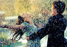 Dance in rain...