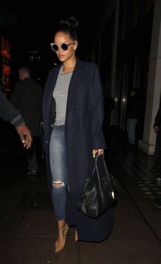 December 2: Rihanna out and about in London