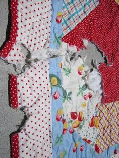How to Repair a Quilt - also tutorial on DVD from Kay Smith worth purchasing.