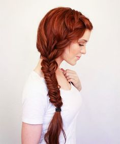 Go for effortless glam with a voluminous side braid.