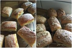 Mini Brote aus hellerem und dunklerem Teig - die-photographin.de #ichbacksmir #abendbrot