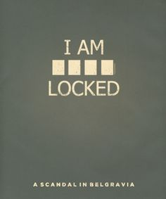 Sherlock Minimalist - ain't no party like a minimalist party